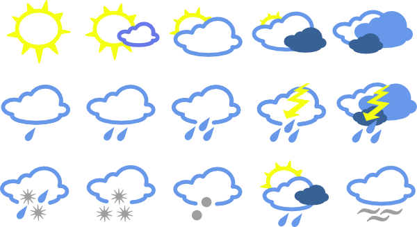 What's the weather like in …? in French II