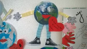 la Terre eco poster, converse