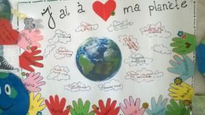 les affiches avec des messages écologiques