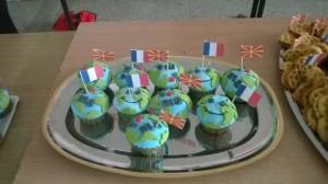 планета Земја колачи, франкофонија