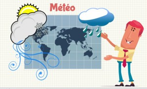 vocabulaire meteo en francais
