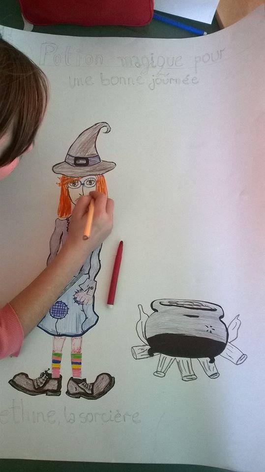 магија за пријатен ден вештерка