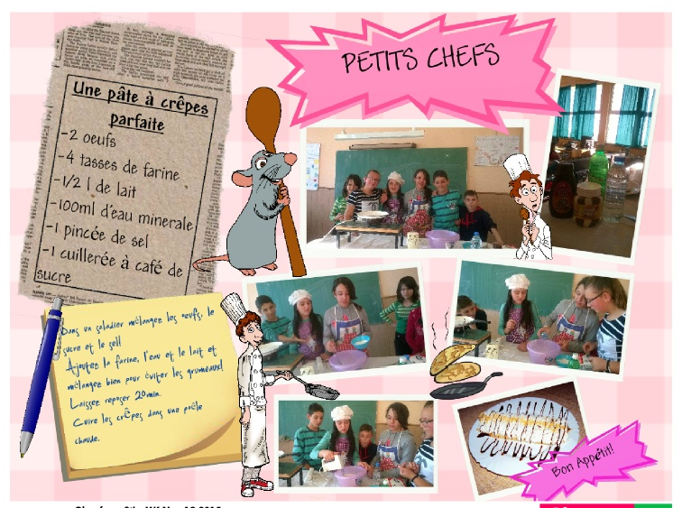 little chefs French classes
