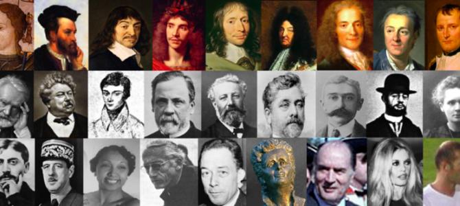 Les personnages historiques de la France