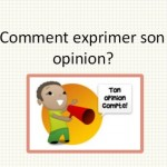 Donner une opinion