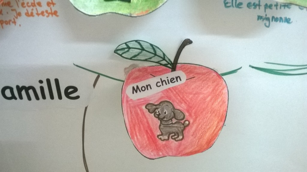 My family project in French