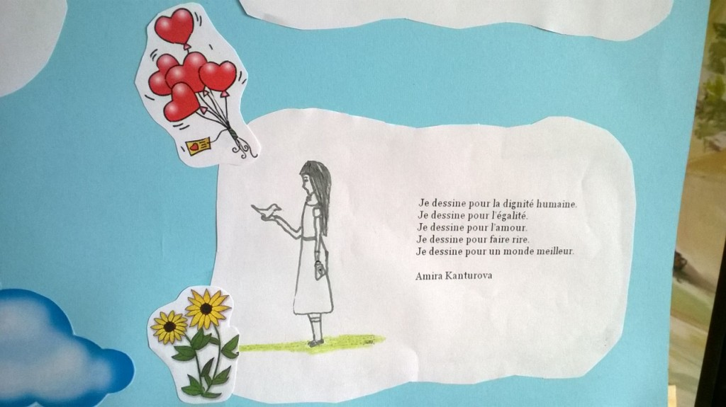 messages for peace in French