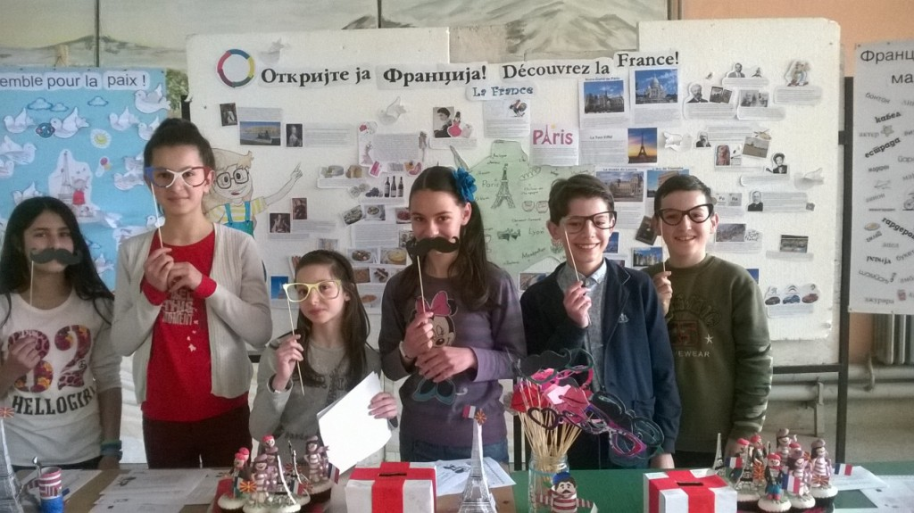 Discover France francophonie in my school