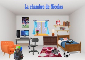 Nicolas's bedroom