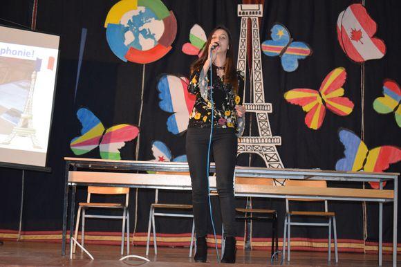 je veux, manifestation francophone