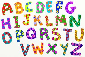 French alphabet letters