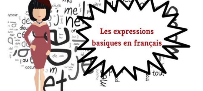 Les expressions basiques en français